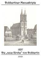 """Schriftenreihe """"Dobbertiner Manuskripte"""" Heft 5 – 1857 – Die """"neue Kirche"""" von Dobbertin"""
