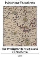 """Schriftenreihe """"Dobbertiner Manuskripte"""" Heft 8 – Der Dreißigjährige Krieg in und um Dobbertin"""