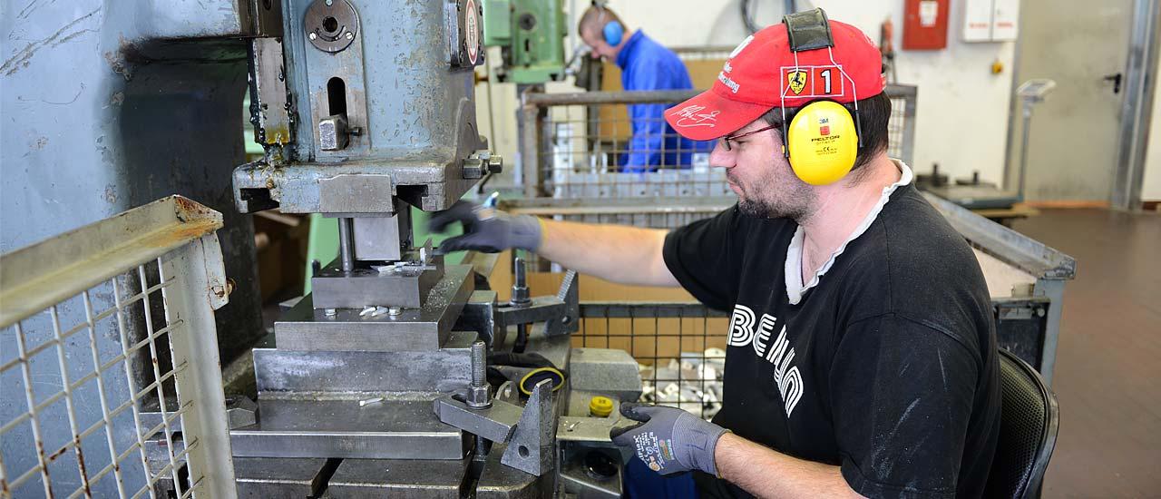 Werkstätten - Arbeitsbereich Metallverarbeitung