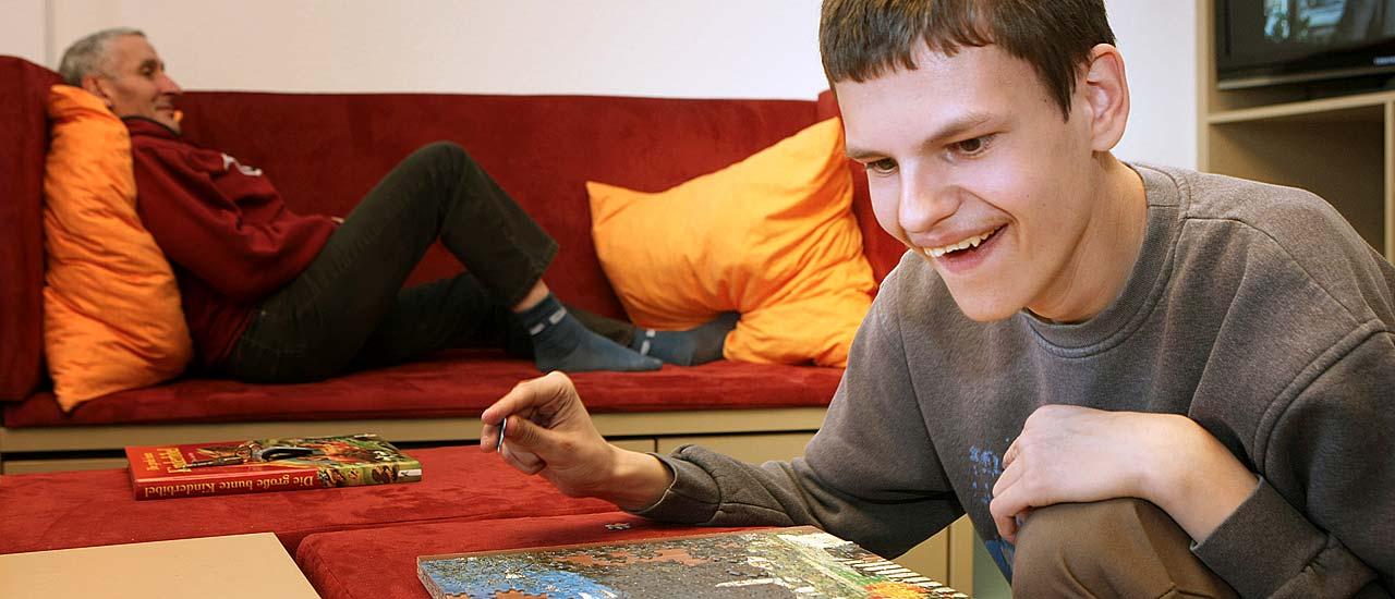 Behindertenhilfe - Wohnbereiche im Kloster Dobbertin