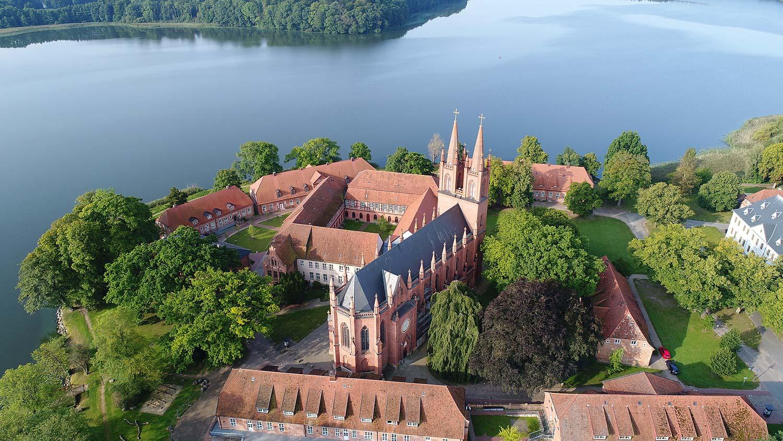 Luftaufnahme Kloster Dobbertin