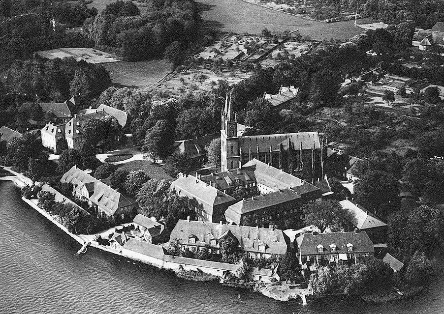 Kloster Dobbertin (Luftaufnahme 1930)